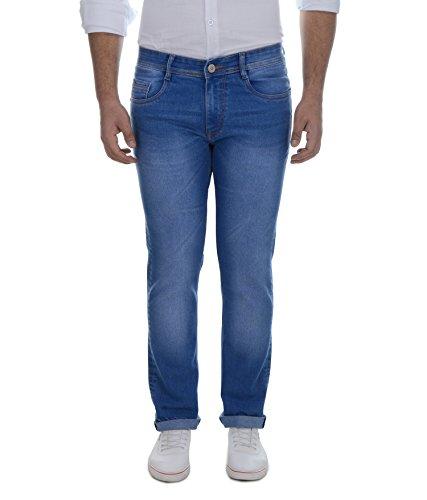 Ben Martin Men's Regular Fit Denim Jeans (BMW7-JJ-LBLUE_34 )