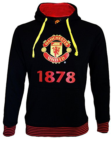 Sweat capuche molleton Manchester United - Collection officielle - Taille adulte homme