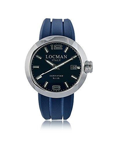 LOCMAN Herren 042200Blnnk0sibwsb Blau Stahl Uhr