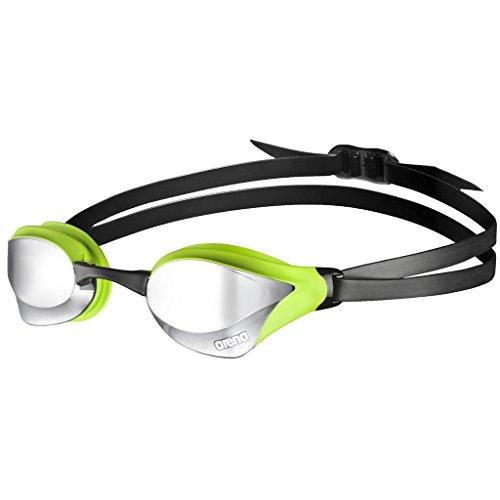 Foto de Arena Cobra Core Mirror Gafas de Natación, Unisex Adulto, Silver/Green, Talla Única