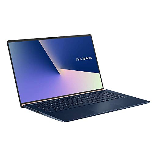 ASUS ZenBook 15 UX533FD (90NB0JX1-M03910) 39,6 cm (15,6 Zoll, FHD, WV, matt) Ultrabook (Intel Core i7-8565U, 16GB RAM, 512GB SSD, NVIDIA GeForce GTX 1050 Max-Q (2GB), Windows 10) Royal Blue