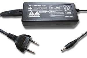 vhbw Chargeur, câble de charge, bloc d'alimentation pour appareil photo Canon MVX200, MVX200i, MVX20i, MVX250I, MVX25I, MVX300, MVX30i, MVX330i, MVX350i, MVX35I comme ca de 570.