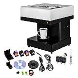 Syoon 1 Tassen Latte Kuchen Selfie Art Drucker vollautomatisch, essbare Tinte Blume Kaffee Drucker No Tablet
