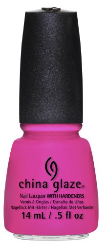 China Glaze Nail Lacquer with Hardner - Lacquered Effect - You Drive Me Coconuts, 1er Pack (1 x 14 ml)