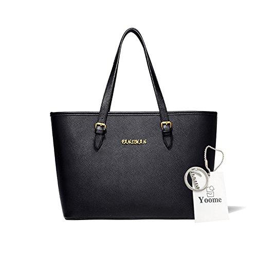 Sacchetti di affari di Yoome per le borse della borsa della borsa delle donne Borse universali per le borse delle borse delle donne per le ragazze - azzurro Nero