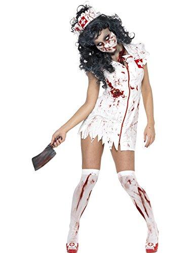 Erwachsenen Zombie Nurse Damen Sexy Halloween-Kostüm (Damen: 34/36)