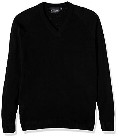 J Masters Schoolwear Unisex V Neck Knitted School Jumper -