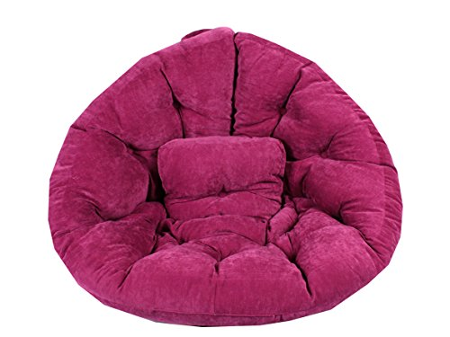 Ambientehome 90711 Magic Seat Ocotpus Sitzmuschel, XL, 195 cm, rosa