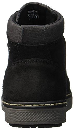Geox Herren U Mattias B Abx D Chukka Boots Schwarz (Black)