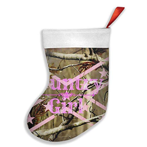 s Stockings Country Girl Background Stocking White Polyester Cuff ()