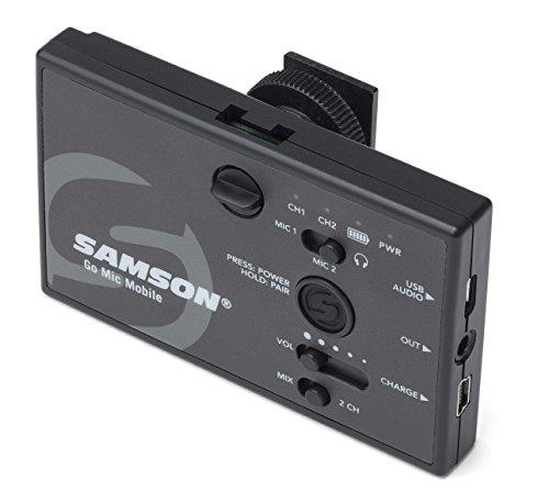 Samson Go Mic Mobile Receiver schwarz