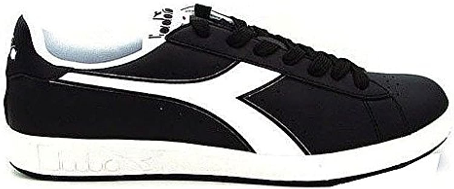 Diadora Men's Game P Low Top Shoes Black