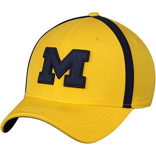 f1f5eec17bff50 University of Michigan Wolverines Jordan Brand Sideline AeroBill Coaches  Performance Adjustable Hat - Maize