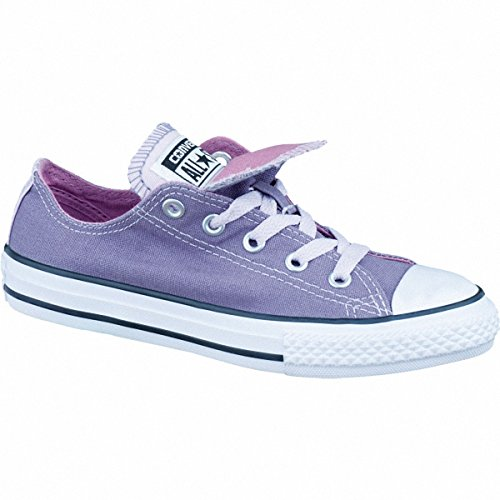 Converse All Star Double Tongue Bambina Sneaker Porpora Lila