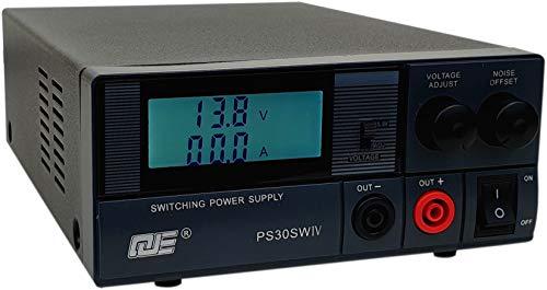 Komerci PS30SWIV Festspannungsnetzgerät 13,8V /9-15V 30A Schaltnetzteil mit regelbarem Entstörfilter Netzteil Netzgerät (15v 5a Netzteil)
