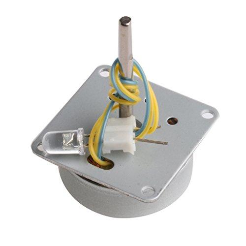 MagiDeal Mini 3V-24V Elektro Wind Turbine Motor Generator Generatoren Klinge Lehrmittel für Kinder -