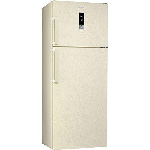 Smeg Glas-kühlschrank (Smeg fd432pmnfe4autonome 432L A + Creme Kühlschränken-réfrigérateurs-congélateurs (autonome, creme, rechts, Knöpfe, LED, Glas))