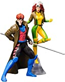 Kotobukiya Pack 2 estatuas Gambit & Rogue (X-Men '92) 19 cm. ARFX+. Escala 1:10. Marvel Universe