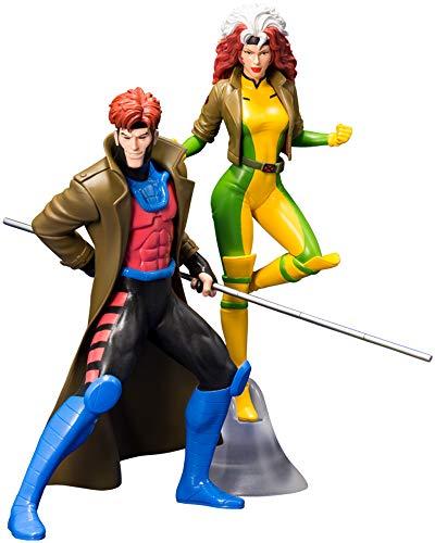 Kostüm X Rogue Men - Kotobukiya ARTFX + Gumbit & Rogue 2 Pack X-Men 1/10 PVC Painted Easy Assembly Kit