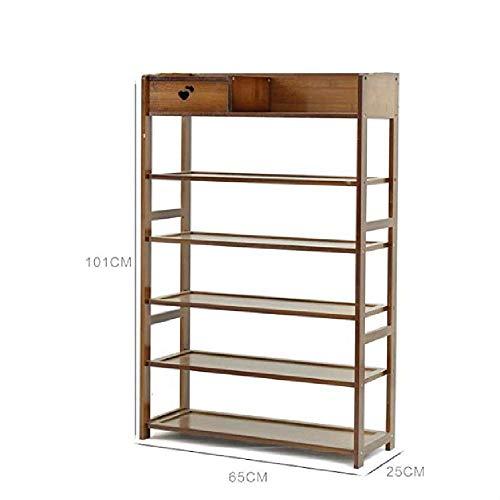 XCSXIE Mehrschichtige einfache Schuhregal-Haushaltstür-Multifunktionswohnheim-Wohnzimmer-Speicher-Zahnstange-Balkon-Blumen-Zahnstange B -