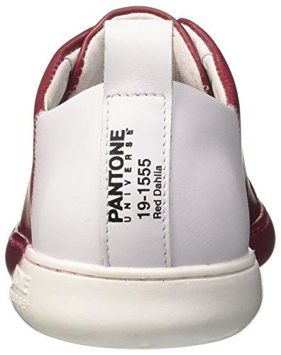 Pantone Unisex-Erwachsene NYC Niedrige Sneaker Rosso (Red Dhalia)