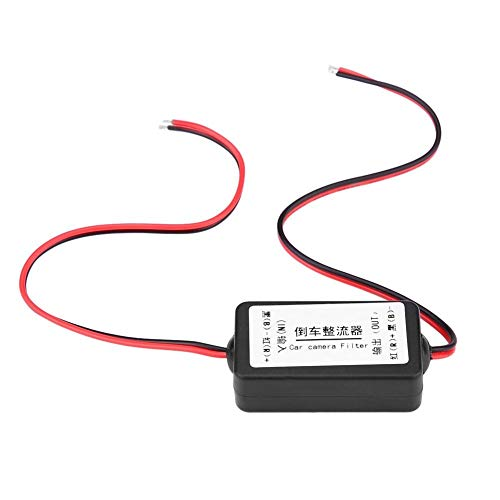 Dewin Filter Gleichrichter-12V DC Rückfahrkamera Leistungsrelais Kondensator Filter Gleichrichter