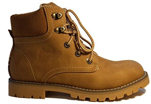 Chaussures hiver, chaussures femme doublées, bottes hiver, chaussures trekking, modèle 13084112018094, différents modèles et tailles. Beige semi-haute.