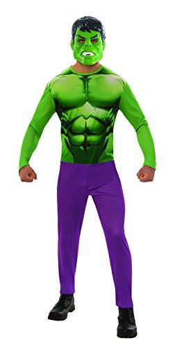 Hulk–Kostüm, M (Rubie 's Spain 820956-m) (Homme Kostüm 2017)