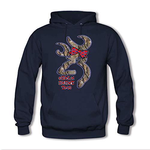 weileDIY Browning Camo DIY Custom Women's Printed Hoodie Sweatshirt Browning-camo Sweatshirt