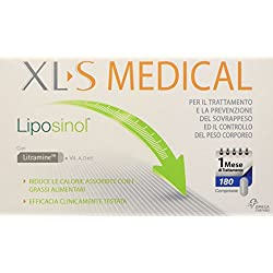 Xls Medical Liposinol - 180 Capsule (340 g)