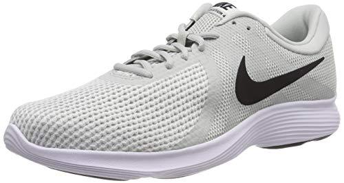 Nike Nike Revolution 4 Eu Zapatillas de Running Hombre, Multicolor (Light Silver/Black/Sail/White 019), 42.5 EU
