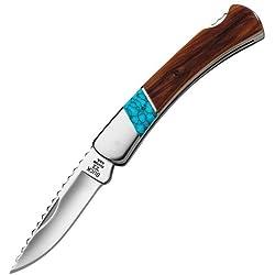 Buck WBC Cedar Prince 0503CDSLE Couteau fermant Mixte Adulte, Multicolore