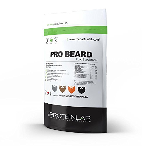 Pro-Beard-Growth-Capsules-Pills-Tablets-x-100-Facial-Hair-Supplement-100-Natural-UK-Made
