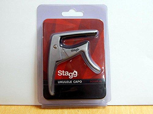 Stagg 21301 Trigger CAPO Ukulele Kapodaster matt