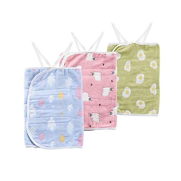 AILEE Baby's Navel Alrededor del Vientre del bebé Bolsillo bebé Vientre protección Vientre algodón bebé Vientre Banda… 3