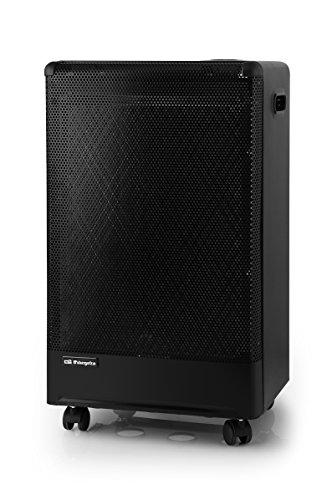 Orbegozo H55 Estufa de Butano Catalítica, Triple Sistema de Seguridad, 3000 W, Negro