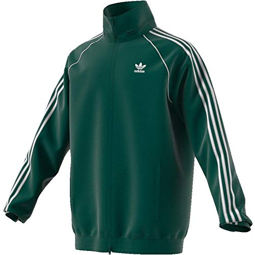 Grün Blazer Jacke (adidas Herren SST Windbreaker Jacke, Cgreen, 2XL)