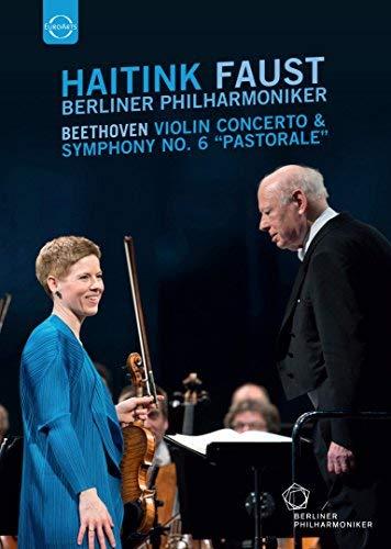 Preisvergleich Produktbild Beethoven:Violin Concerto [Isabelle Faust; Berlin Philharmonic Orchestra ,  Bernard Haitink] [EUROARTS: DVD]