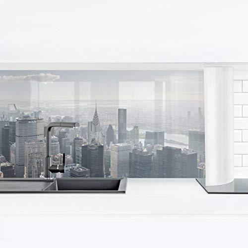 Bilderwelten Küchenrückwand Panorama Folie - Upper Manhattan New York City Smart 40 x 140 cm
