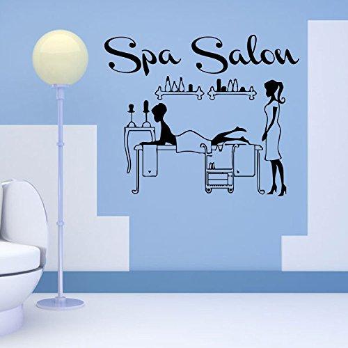 Mznm Fenster Glas Aufkleber Gesundheit Salon Hair Salon Rezeption Dekorative Wand Aufkleber -