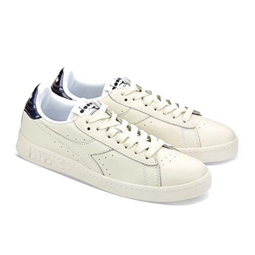Diadora Game L Low Mirror, Sneaker a Collo Basso Unisex – Adulto 60024 - BLU ESTATE