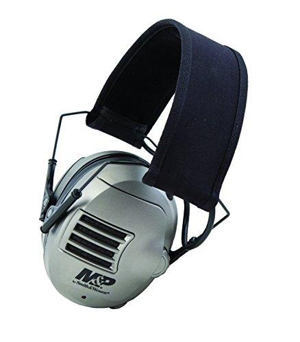 Howard Elektronische Ohrenschützer Leight (Smith & Wesson Zubehör M & P Alpha Elektronischer Gehörschutzkapseln)