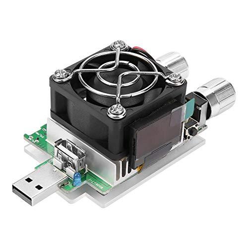 Einstellbare elektronische Konstantstromlast mit USB-Anschluss, 35-W-Entladungsstrom-Prüfgerät mit LCD