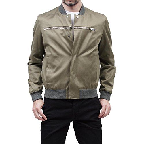 balenciaga-mens-409174tqd213400-green-cotton-outerwear-jacket