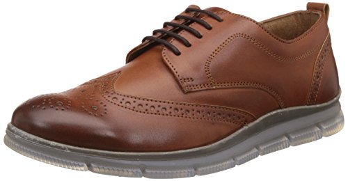 Knotty Derby Men's Johnson Brogue Derby Tan Sneakers - 9 UK/India (43 EU)