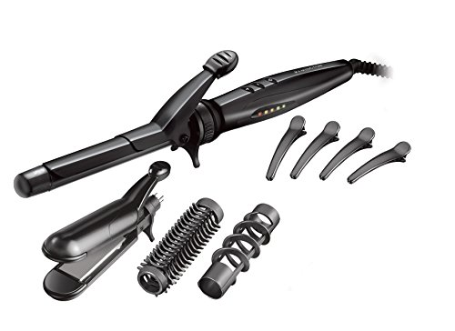 Remington s8670 ferro arricciacapelli kit multi styler con accessori