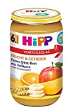 Hipp Frucht & Getreide ab 6.Monat, Feiner Obst-Brei mit Vollkorn, DE-ÖKO-037, Art.Nr. 4910-01 - VE 250g