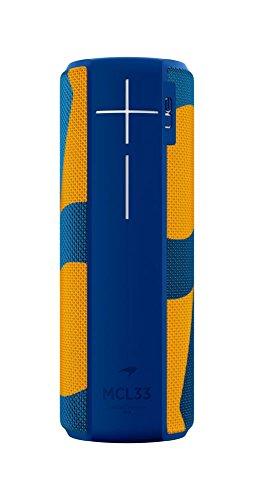 Ultimate Ears Megaboom McLaren MCL33 - Altavoz inalámbrico/Bluetooth (impermeable y resistente a golpes), Azul/Naranja