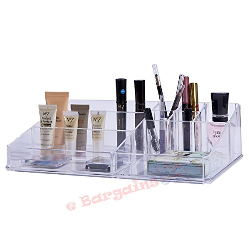 livivo-r-clear-acrylic-single-tier-9-section-cosmetic-organiser-display-stand-for-make-up-nail-polis
