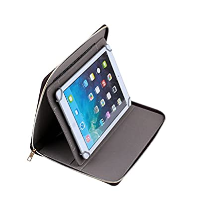 """Ideal Quality Practical 9"""" 9.7"""" 10"""" 9 inch 9.7 inch Tablet PC MID PU Leather Protect Cover Case Stand with 360 Hortizontal and Vertical Rotation view for Lenovo A10 10 Inch Tablet - 16GB,Lenovo ThinkPad 10 (10 inch Multi-touch) Tablet PC Atom,Lenovo Think"""